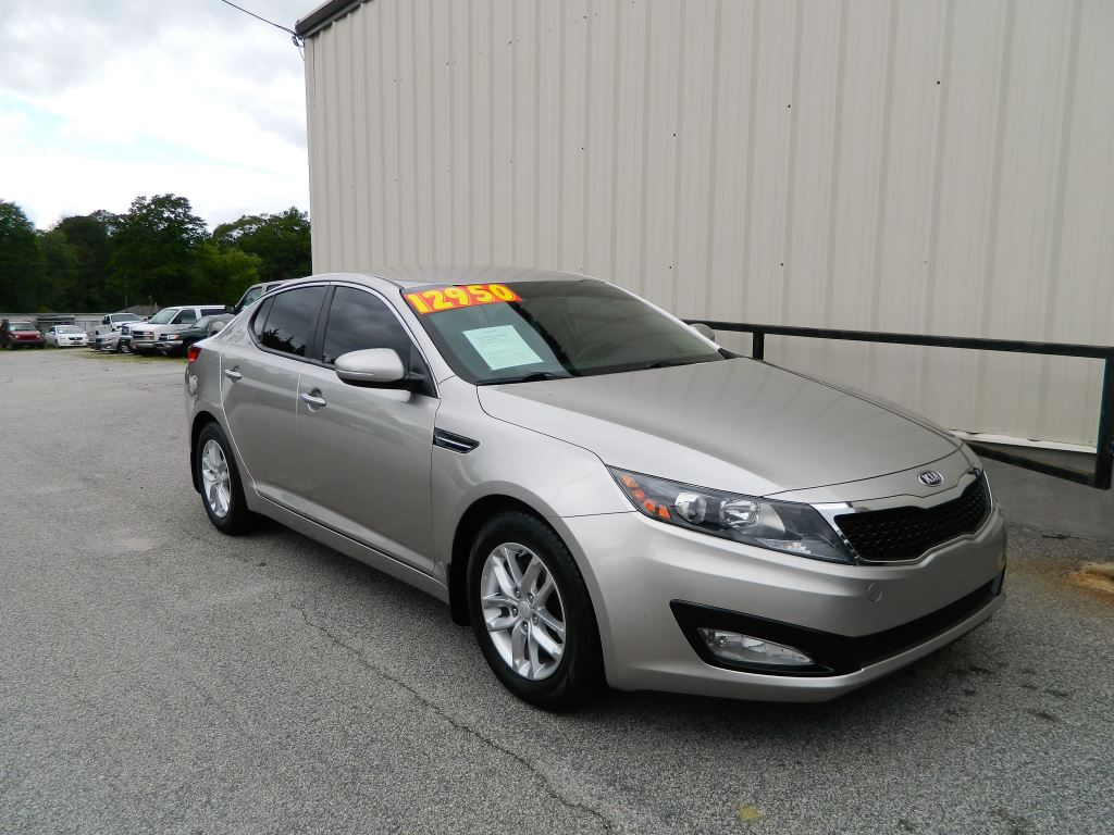 2013 Kia Optima LX   24L 4 Cyl Automatic LX 4Door Sedan Only 66K Miles Power Locks And Pow