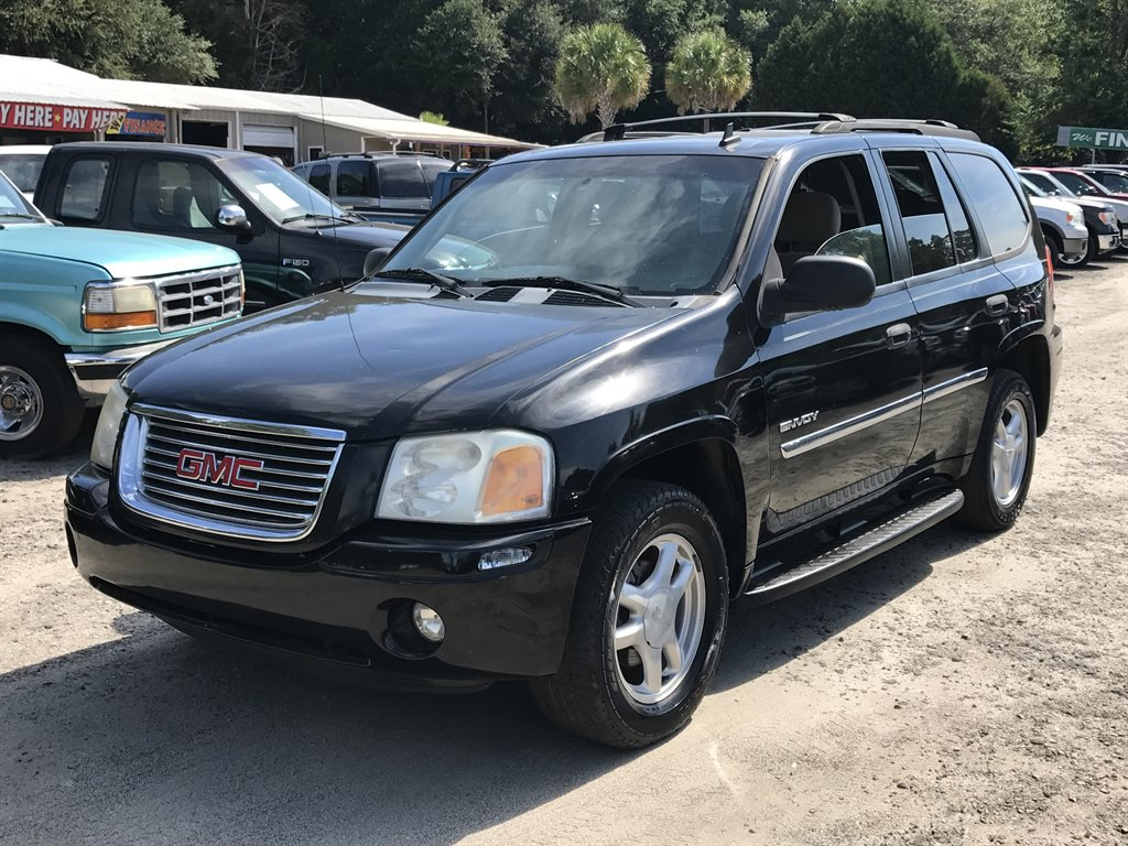 2006 GMC Envoy SLE 1500 DOWN Black Dual Zone AIR ConditioningManual AIR ConditioningAuto-T