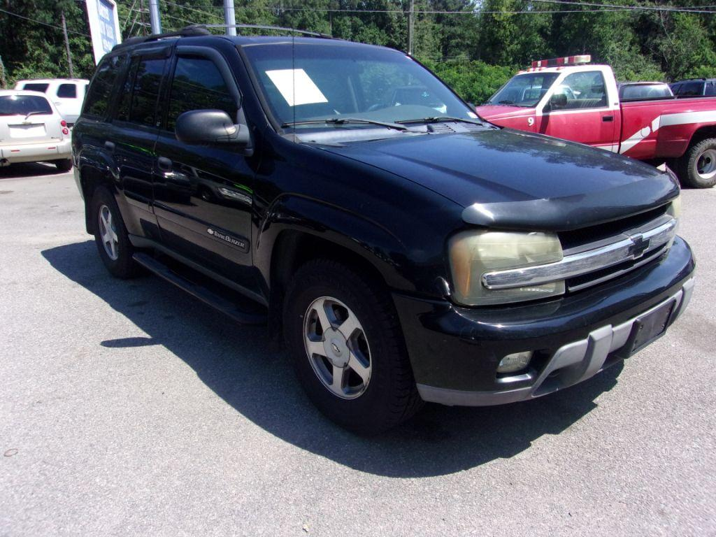 2003 Chevrolet Trailblazer  Black Stock 18108 VIN 1GNDT13S432287175