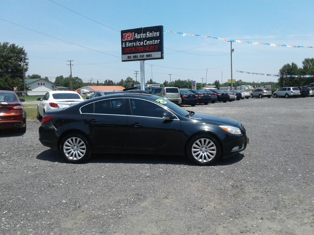 2012 Buick Regal Base 24l Fully loaded leather pw ps pl low miles like new  Black Stock 466 V