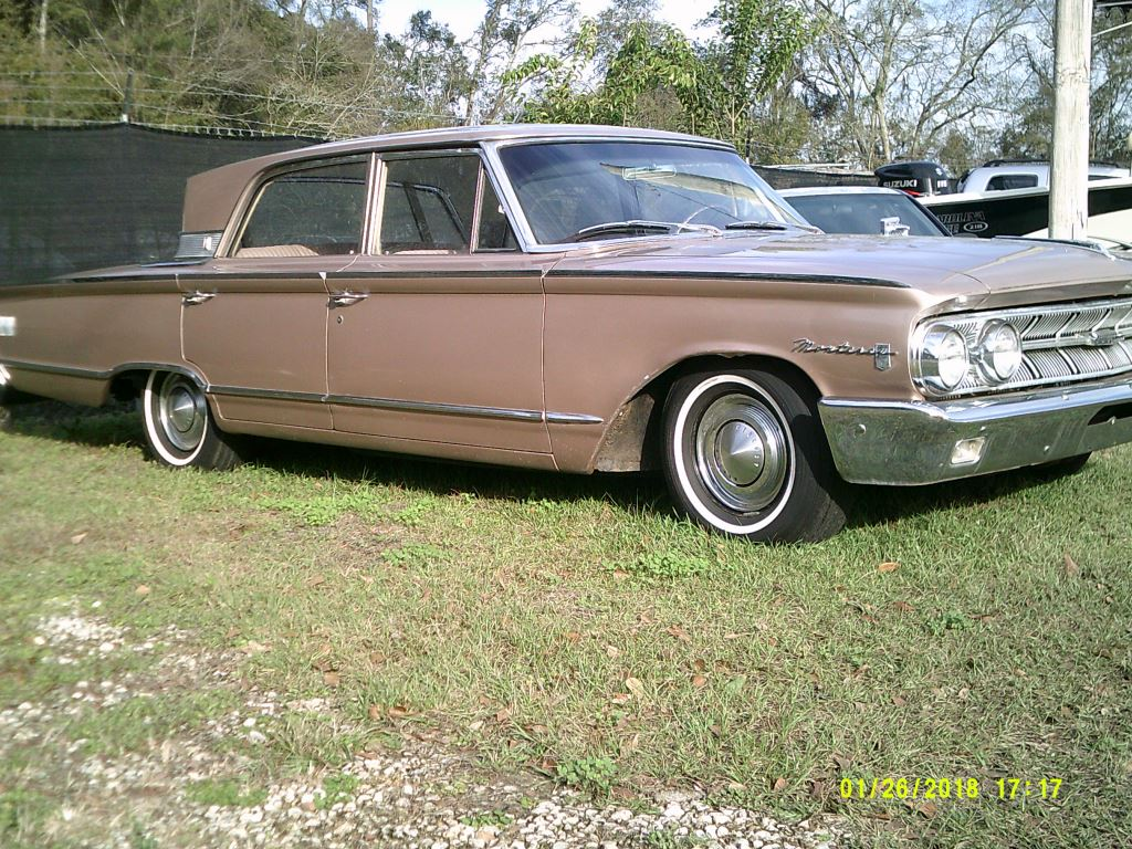 1963 Mercury Monterey  WOW Neat Clean 63 Moterey with 3 on the tree TAN Stock 6487 VIN 3Z62