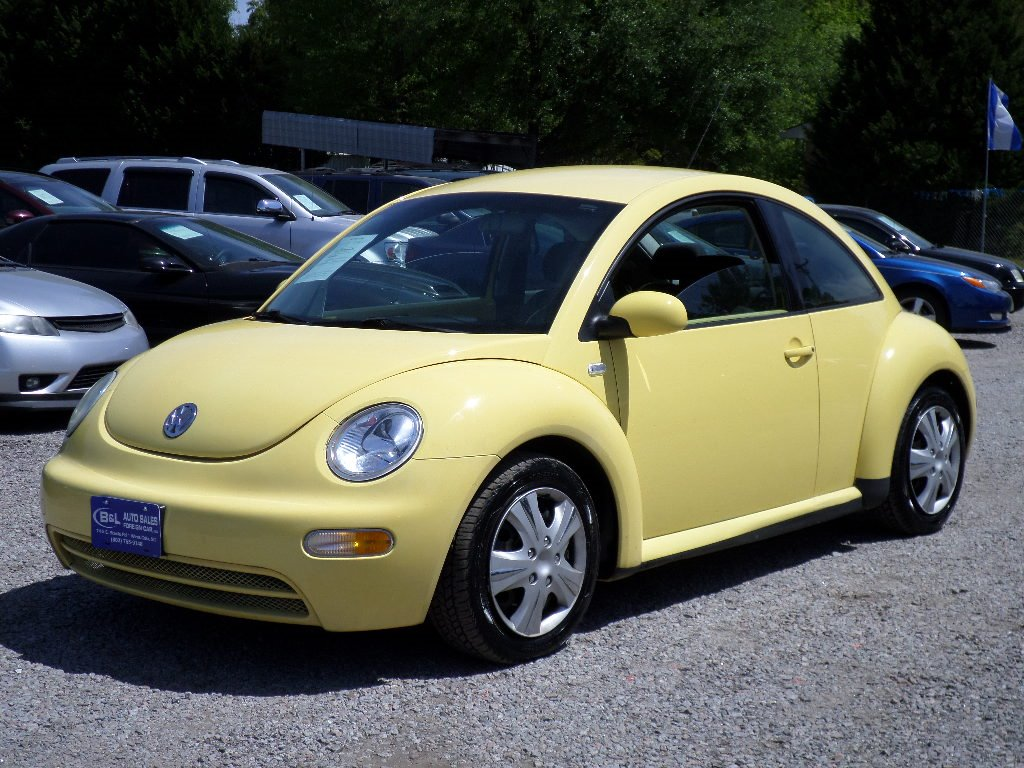 2003 Volkswagen NEW Beetle GL 500 DOWN Yellow Stock 5444 VIN 3VWBK21C23M405847