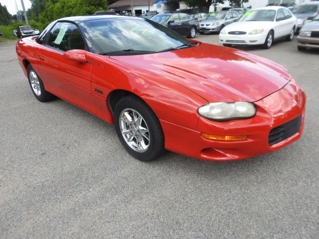 2001 Chevrolet Camaro  RED Stock 18127 VIN 2G1FP22G812121380