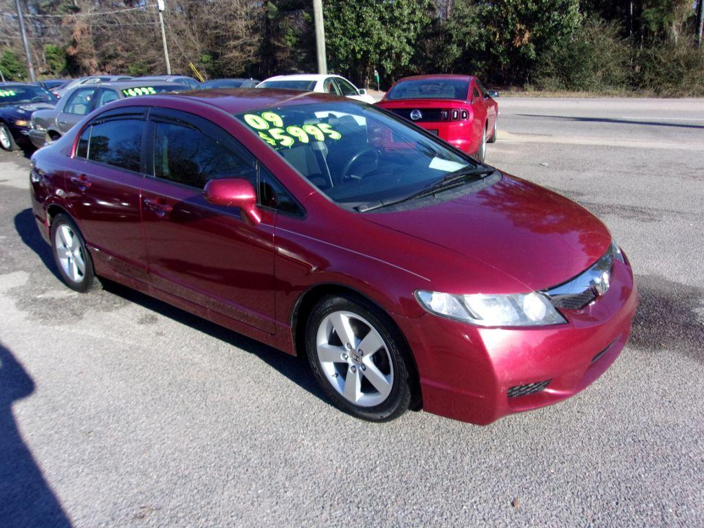 2009 Honda Civic  RED Stock 18010 VIN 2HGFA16639H339189