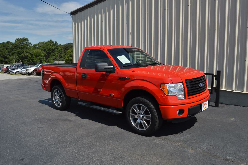 2014 Ford F150  2014 Ford F150 STX 4WD Regular Cab 50L V8 CLEAN TRUCK Power WindowsLocks Ste