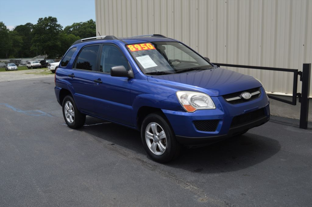 2010 KIA Sportage  2010 Kia Sportage LX 20L I-4 CLEAN SUV GOOD MILES Power WidnowsLocks USB