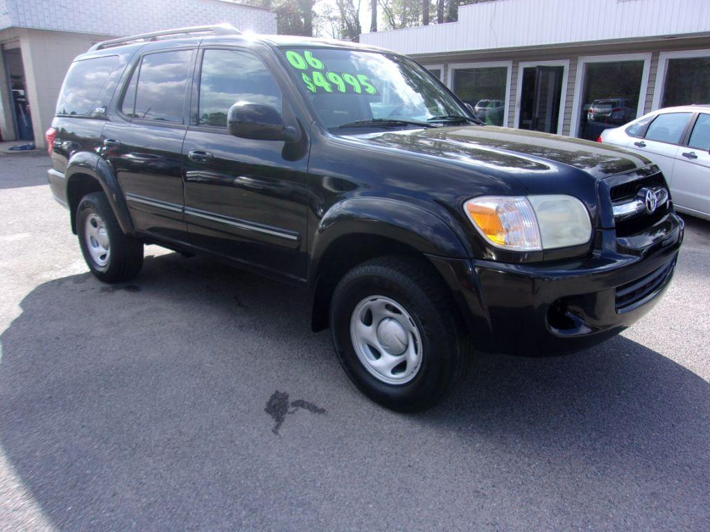 2006 Toyota Sequoia  Black Stock 18039 VIN 5TDZT34AX6S275089
