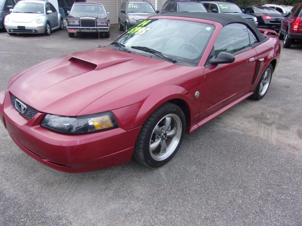 2004 Ford Mustang  RED Stock 17226 VIN 1FAFP45X04F131506