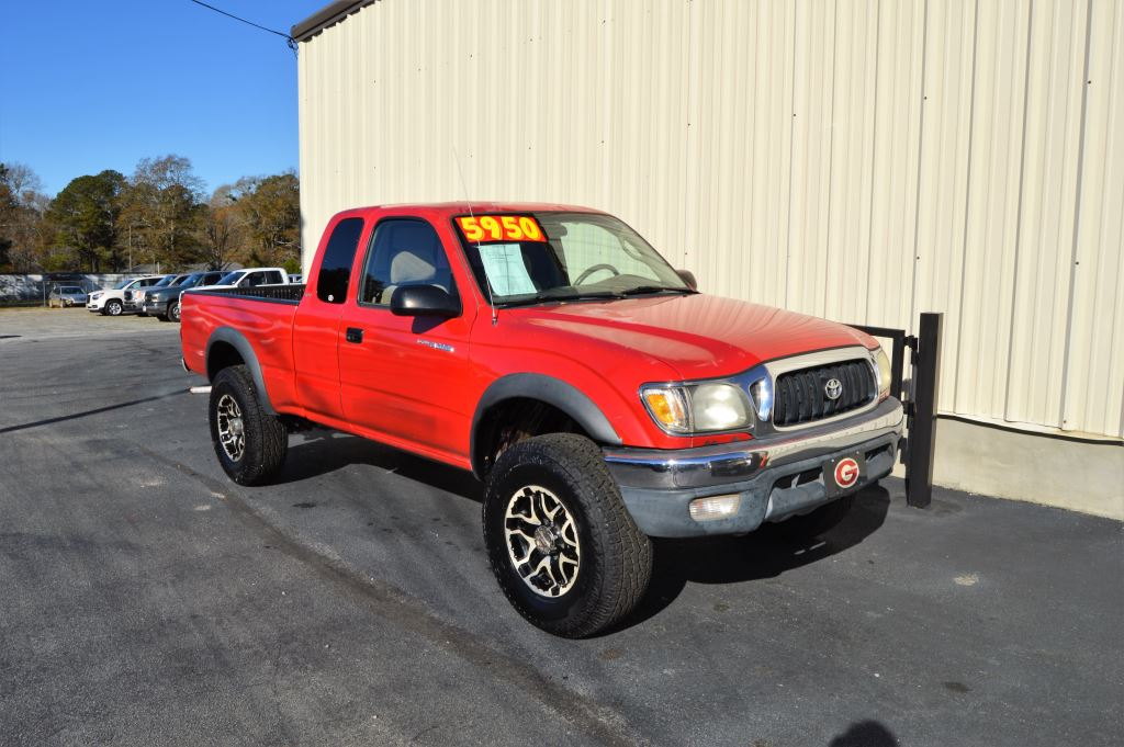 2002 Toyota Tacoma  2002 Toyota Tacoma PreRunner SR5 Extra Cab 27L I-4 LOCAL TRADE Manual Wind