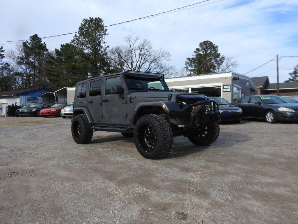 2008 Jeep Wrangler  Our four door automatic JEEP Unlimited Sport is a four wheel drive FULLY load