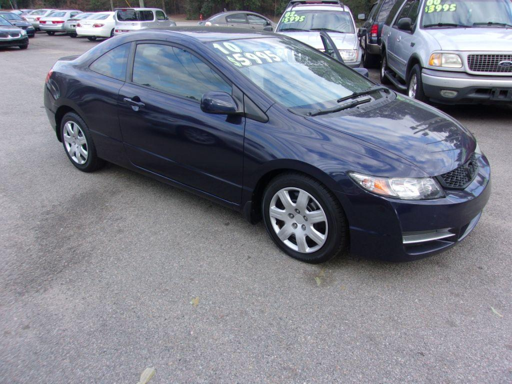 2010 Honda Civic  Blue Stock 16250 VIN 2HGFG1B64AH521881