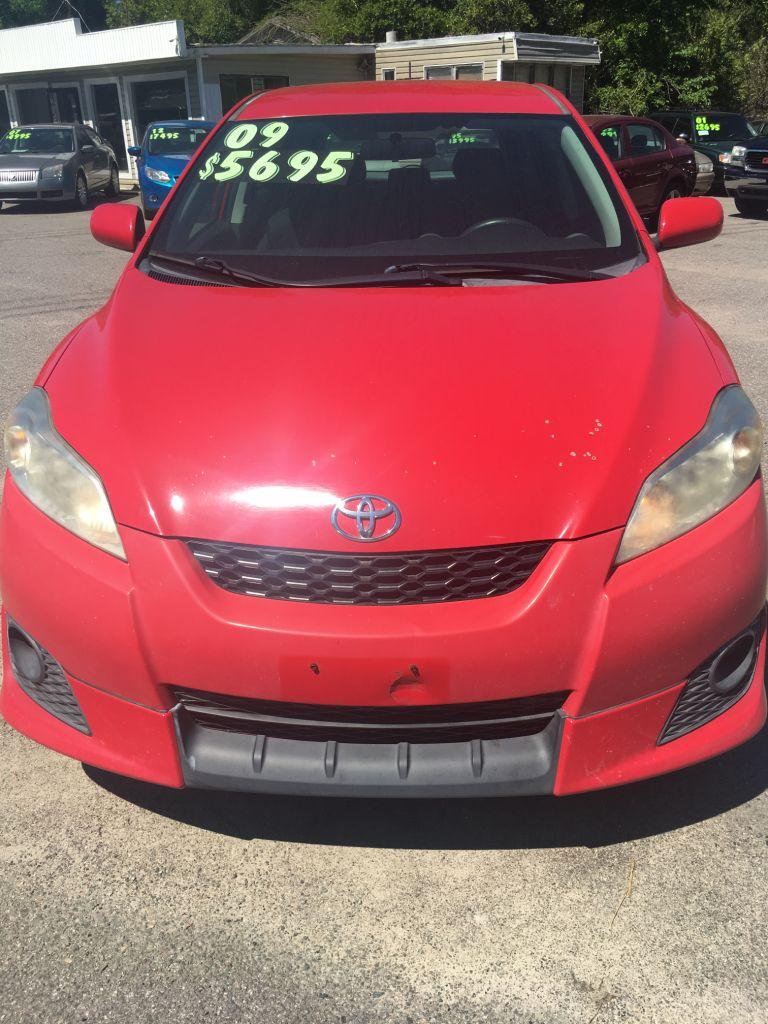 2009 Toyota Matrix  RED Stock 16108 VIN 2T1KU40E29C144944