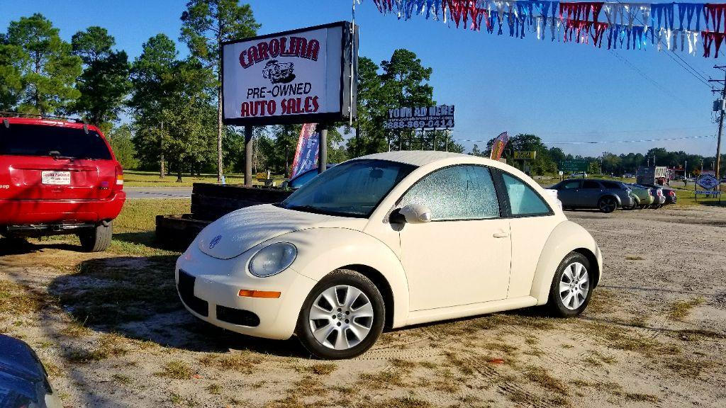 2008 Volkswagen New Beetle S Tan Air filter Air ConditioningCFC-Free Air ConditioningAdjustable