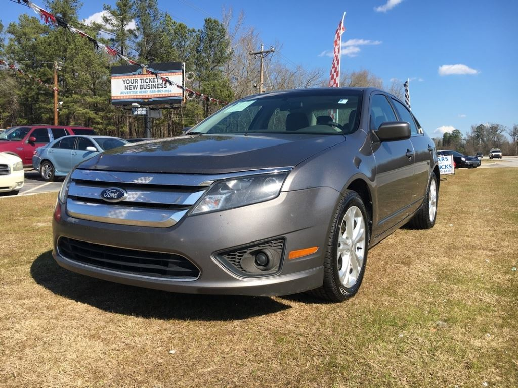 2012 Ford Fusion  Grey Stock 7800 VIN 3FAHP0HA8CR446192