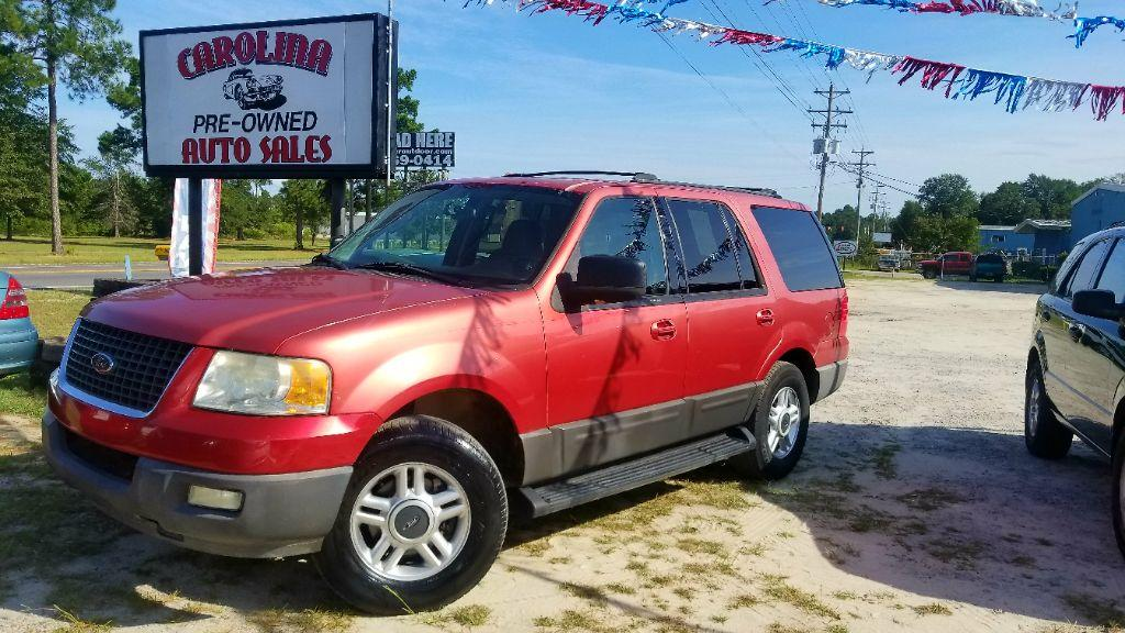 2003 Ford Expedition XLT Red Manual Air ConditioningDual media playback AudioCD Audio - CDMP3