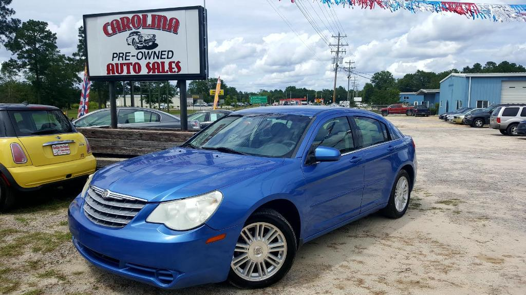 2008 Chrysler Sebring Touring Manual Air ConditioningStorage Armrests2 Assist Handles6-disc C