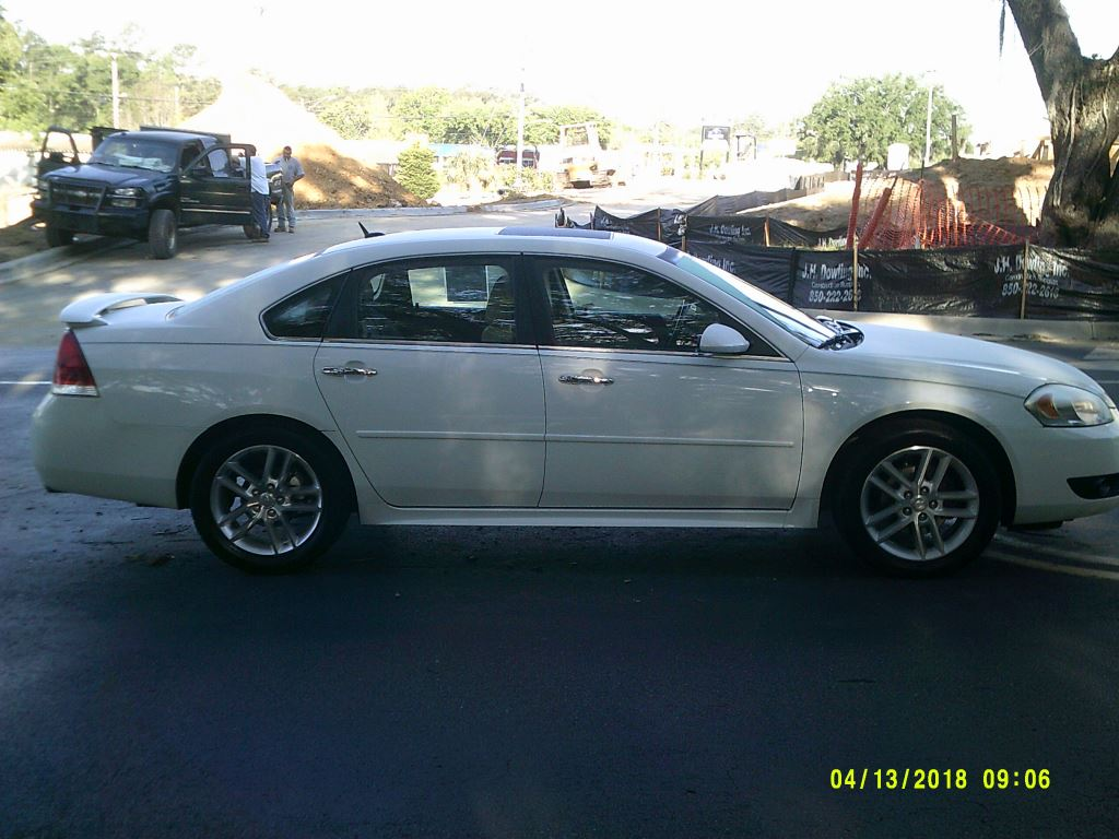 2012 Chevrolet Impala  Clean Car Leather Roof All Power White 5 PassengerAbs 4wheelAir Cond