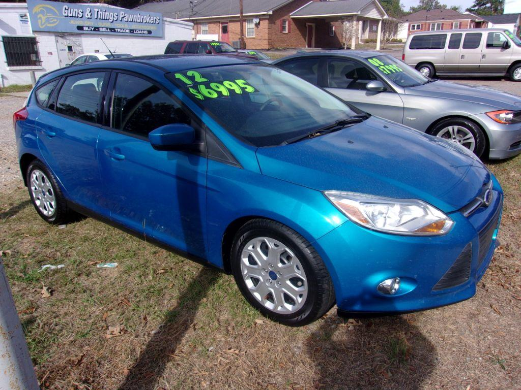 2012 Ford Focus  Blue Stock 17197 VIN 1FAHP3K26CL140576