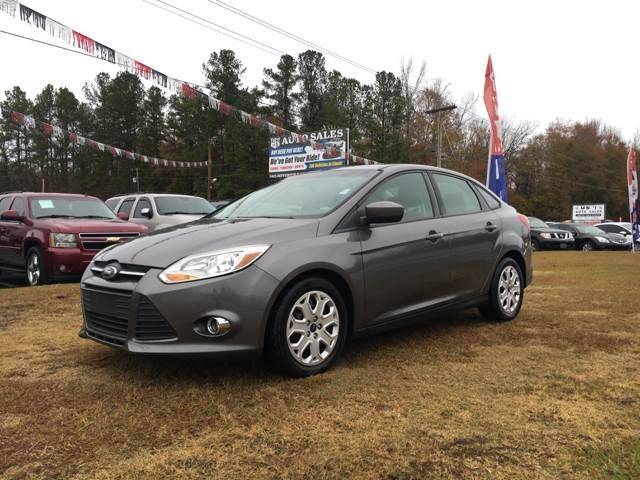 2012 Ford Focus  Grey Stock 7981 VIN 1FAHP3F24CL352497