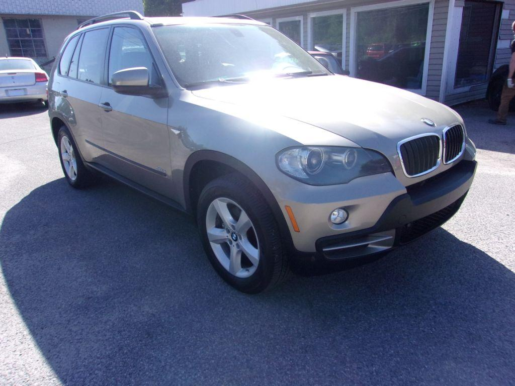 2007 BMW X5  Gold Very Clean Stock 18093 VIN 5UXFE43537LY81858