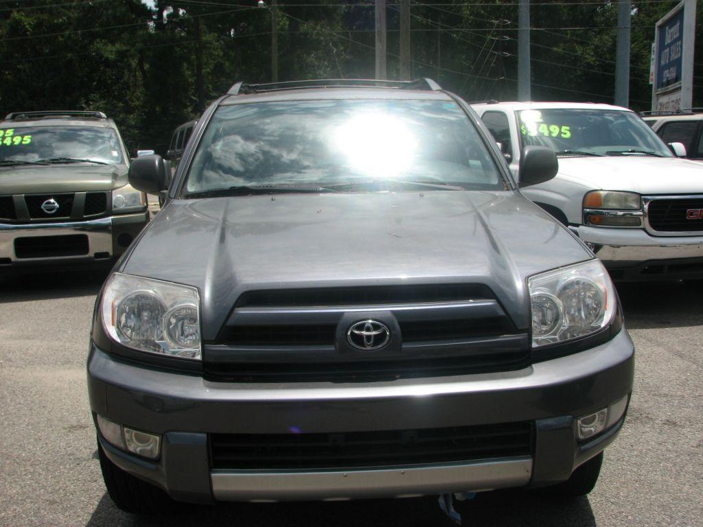 2004 Toyota 4runner  Grey Stock 17158 VIN JTEZU14R340032307