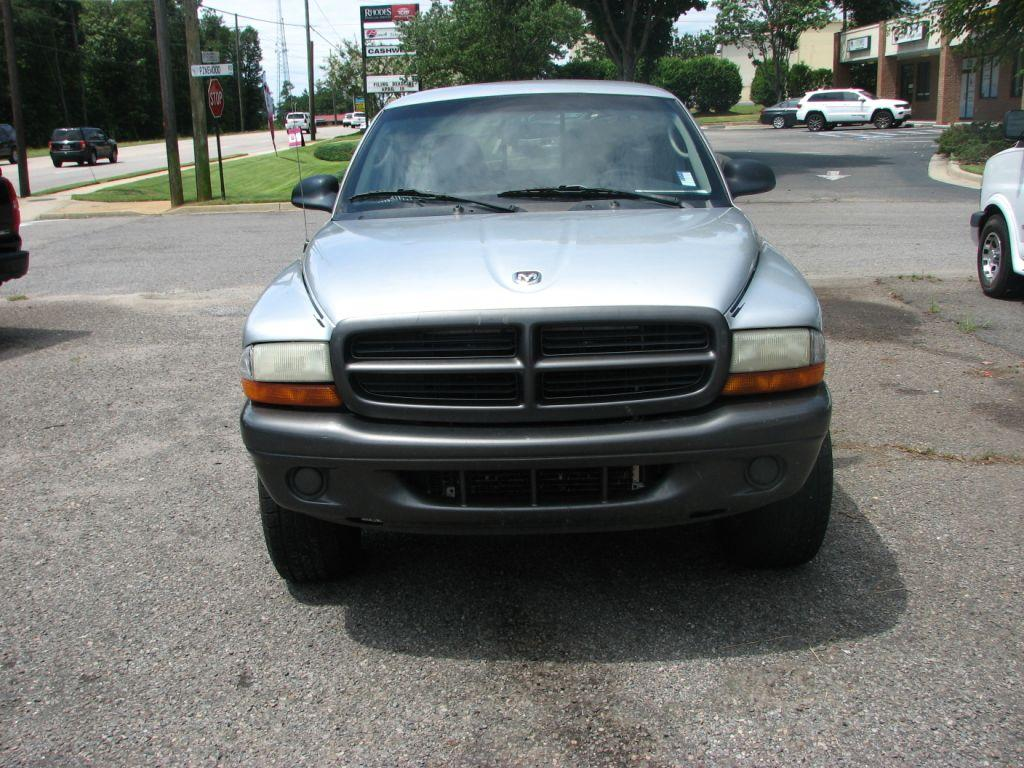 2002 Dodge Dakota  Silver Stock 17103 VIN 1B7GG12X92S645893