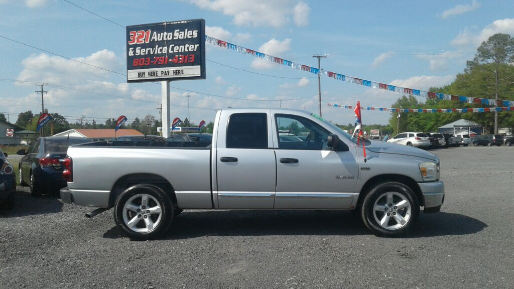 2008 Dodge RAM 1500 SLT Very clean and nice well taken care of pw pl ps   Silver Stock 458 VIN