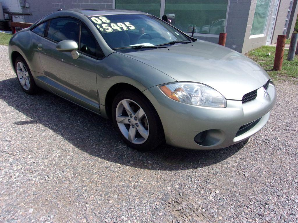 2008 Mitsubishi Eclipse  Green Stock 17182 VIN 4A3AK24F88E002518