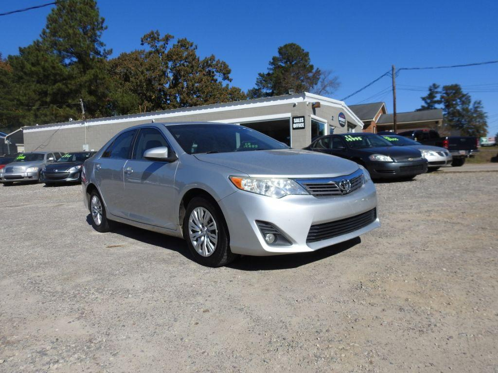 2012 Toyota Camry  Silver Stock 18237 VIN 4T1BF1FK2CU541646