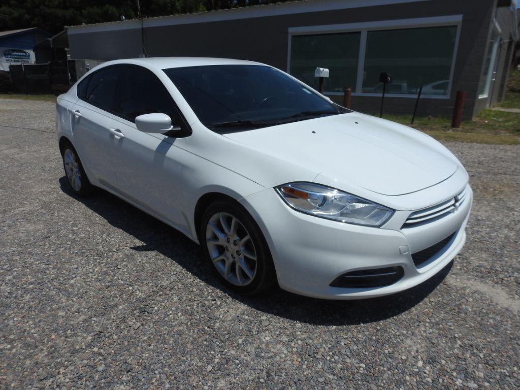 2013 Dodge Dart  White Stock 18153 VIN 1C3CDFBA7DD150572