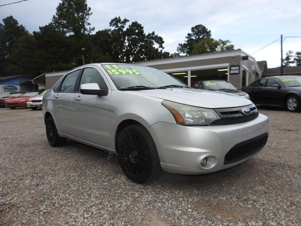 2011 Ford Focus  Silver Stock 18196 VIN 1FAHP3GN1BW184744