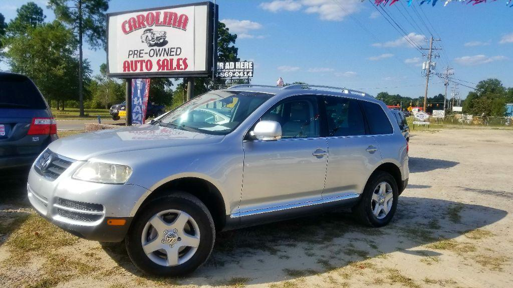 2007 Volkswagen Touareg undefined Silver Automatic Air ConditioningDual zone front Air Conditio