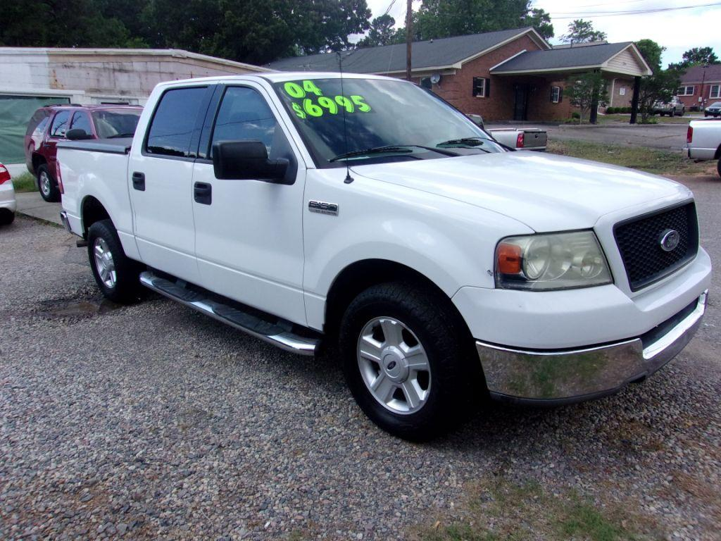 2004 Ford F150  White Stock 18103 VIN 1FTPW125X4KD34932