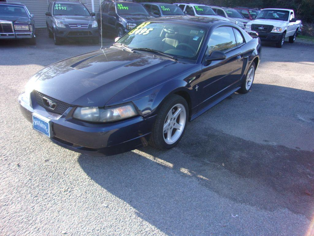2003 Ford Mustang  Blue Stock 17239 VIN 1FAFP40473F427280