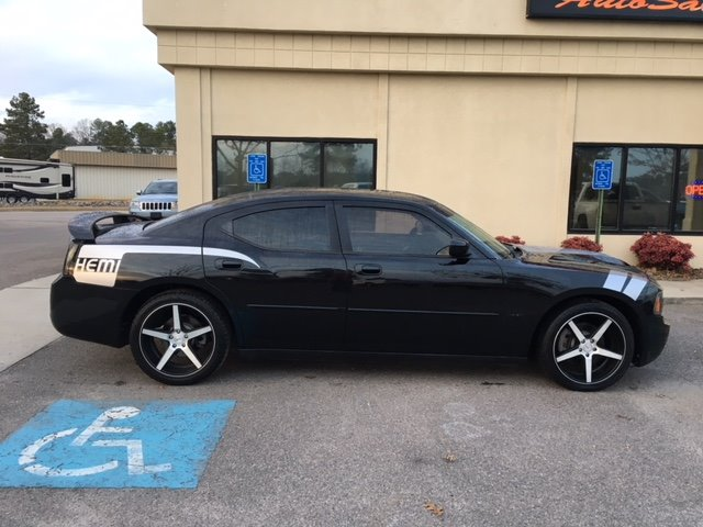 2007 Dodge Charger RT Black Stock 86750 VIN 2B3KA53H57H886750