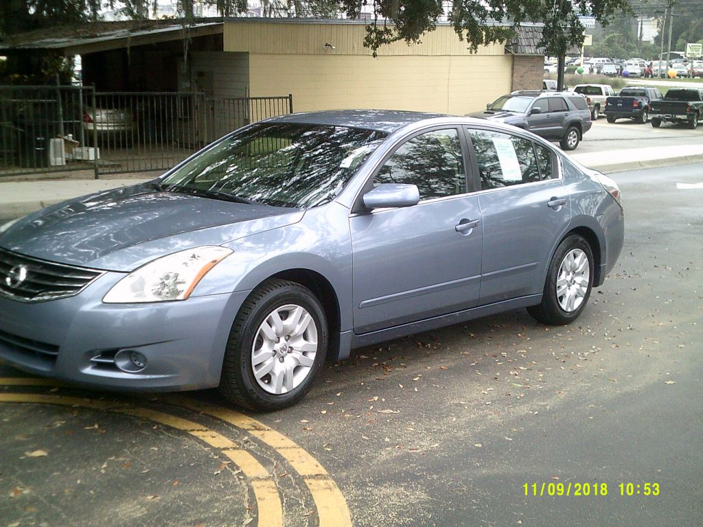 2012 Nissan Altima  Clean Local Trade In Blue Air ConditioningAmFm StereoCompact DiscCruise