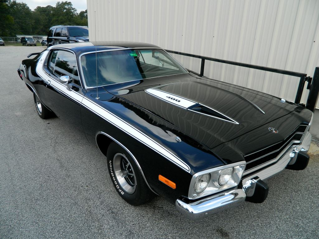 1974 Plymouth Roadrunner  1974 PLYMOUTH ROADRUNNER MATCHING NUMBERS 400 WITH 727 TORQUE FLIGHT