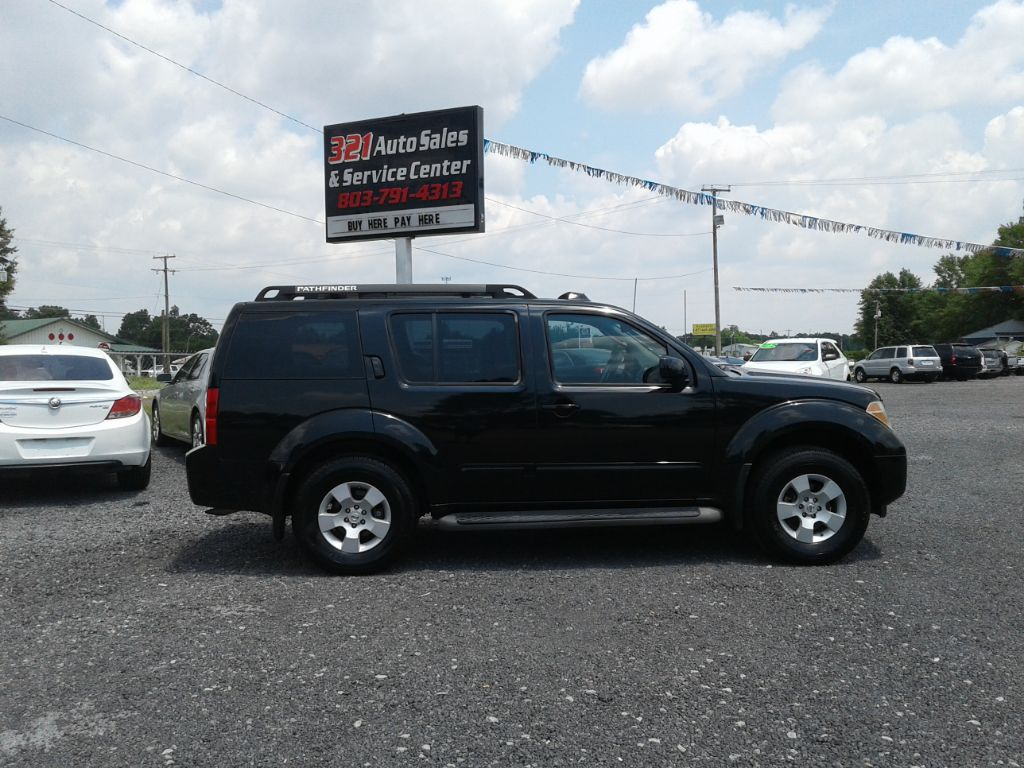 2006 Nissan Pathfinder SE Very clean pw ps pl sunroof 4wd  Black Stock 5819 VIN 5N1AR18W06C67
