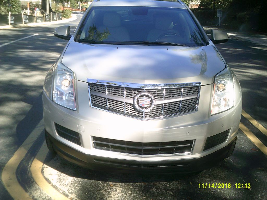 2010 Cadillac SRX  1 Owner Clean Car fax Leather Nav Pano Roof Premium Package Beige 5 Passeng