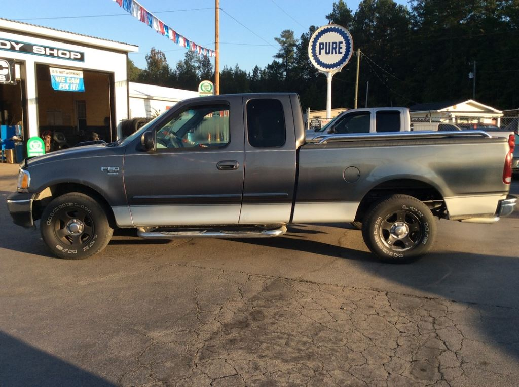 2003 Ford F150  Grey Stock 6495 VIN 2FTRX17L73CA05332