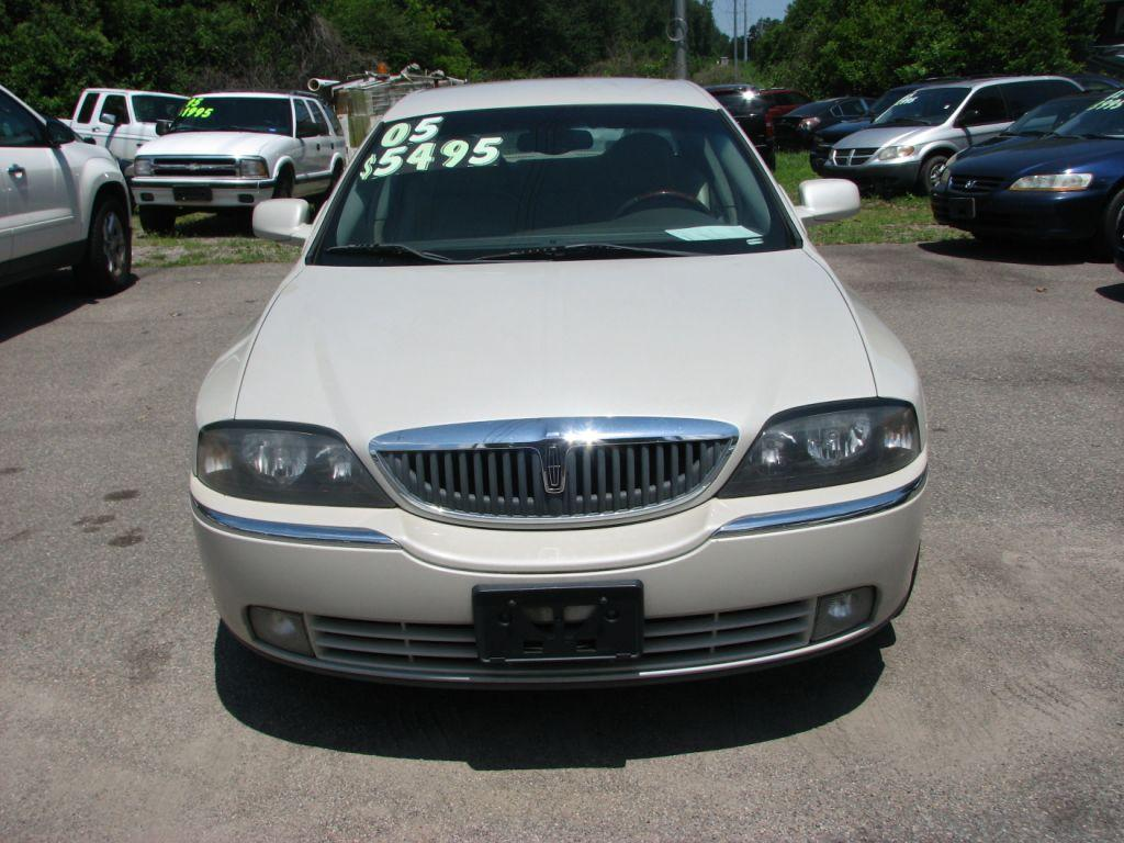 2005 Lincoln LS  White Stock 1648 VIN 1LNHM87A55Y641976