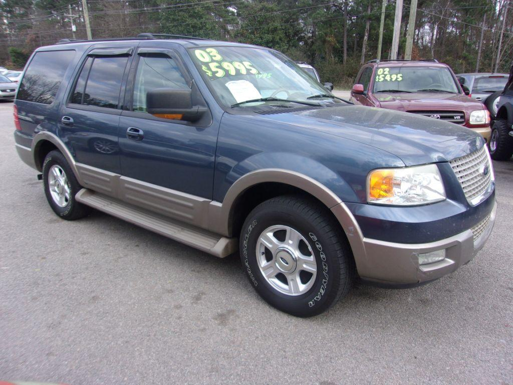2003 Ford Expedition  Blue Stock 18002 VIN 1FMPU17L43LB71731