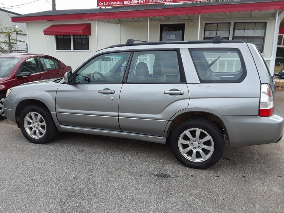 2007 Subaru Forester X Very clean and quiet running car Great condition and room for the family