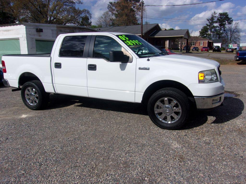 2005 Ford F150  White Stock 18034 VIN 1FTPW145X5FB70444