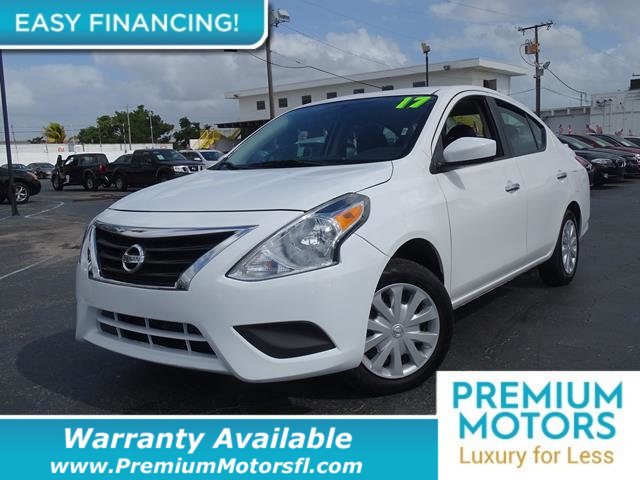 2017 NISSAN VERSA SEDAN  LOADED CERTIFIED MINT CONDITION and 1000s Below Retail Get low monthl