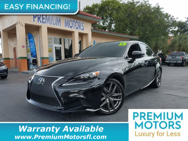 2015 LEXUS IS 250  LOADED CERTIFIED WE SAVE YOU THOUSANDS Dont Pay Retail Get low monthly pa