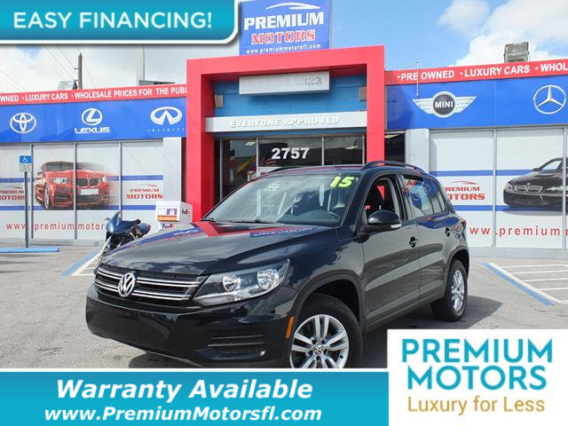 2015 VOLKSWAGEN TIGUAN  LOADED CERTIFIED FACTORY WARRANTY Dont Pay Retail Get low monthly pay
