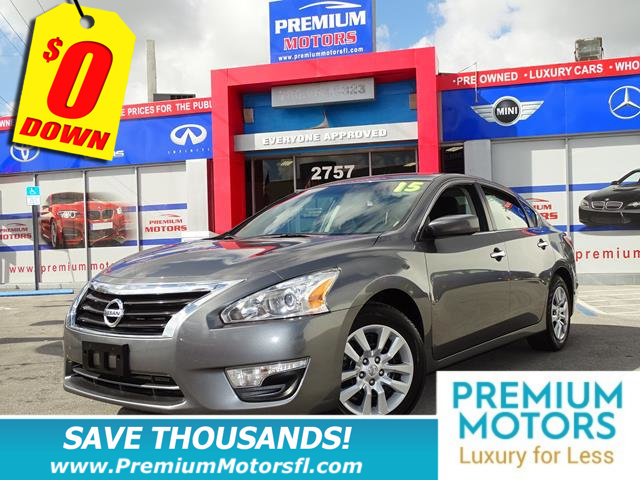 2015 NISSAN ALTIMA 4DR SEDAN I4 25 S NISSAN FOR LESS SAVE THOUSANDS At Premium Motors we have