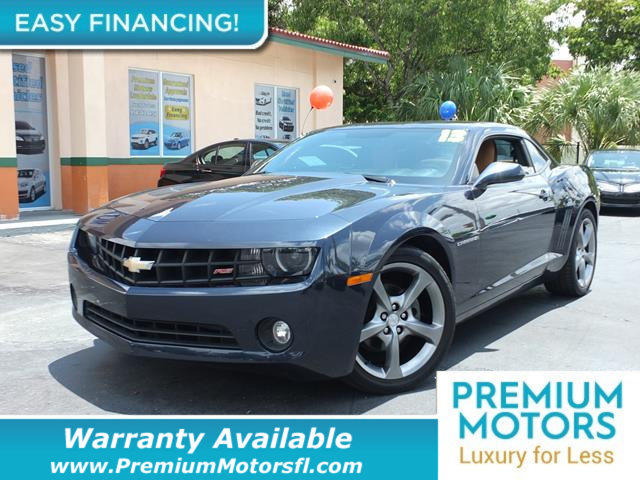 2013 CHEVROLET CAMARO 2DR COUPE LT W2LT LOADED CERTIFIED WE SAVE YOU THOUSANDS Fully serviced