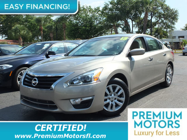2013 NISSAN ALTIMA 4DR SEDAN I4 25 S LOADED CERTIFIED WE SAVE YOU THOUSANDS Fully serviced ju
